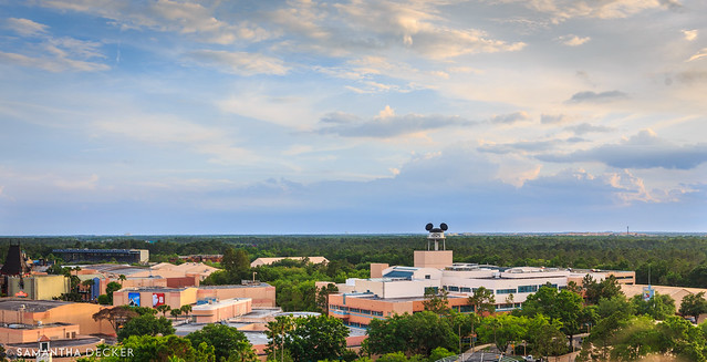 A View Over Hollywood Studios