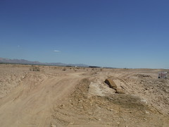 steppe(0.0), erg(0.0), valley(0.0), aeolian landform(0.0), sahara(0.0), soil(1.0), sand(1.0), plain(1.0), geology(1.0), natural environment(1.0), plateau(1.0), desert(1.0), dune(1.0), landscape(1.0), wadi(1.0), badlands(1.0),