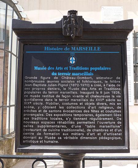 musée des arts et traditions populaires de Marseille