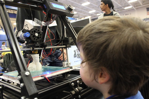 Maker Faire Nova -Sagan Watches Groot Print
