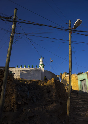 Mosque In The Old Town, Harar, Ethiopia