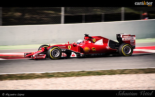 Sebastian Vettel - Ferrari - Test pretemporada F1 2015