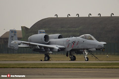 81-0992 DM - A10-0687 - USAF - Fairchild A-10C Thunderbolt II - Lakenheath, Suffolk - 150319 - Steven Gray - IMG_5475
