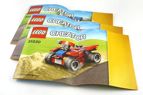 LEGO Creator 31030 Red Go-Kart ins01