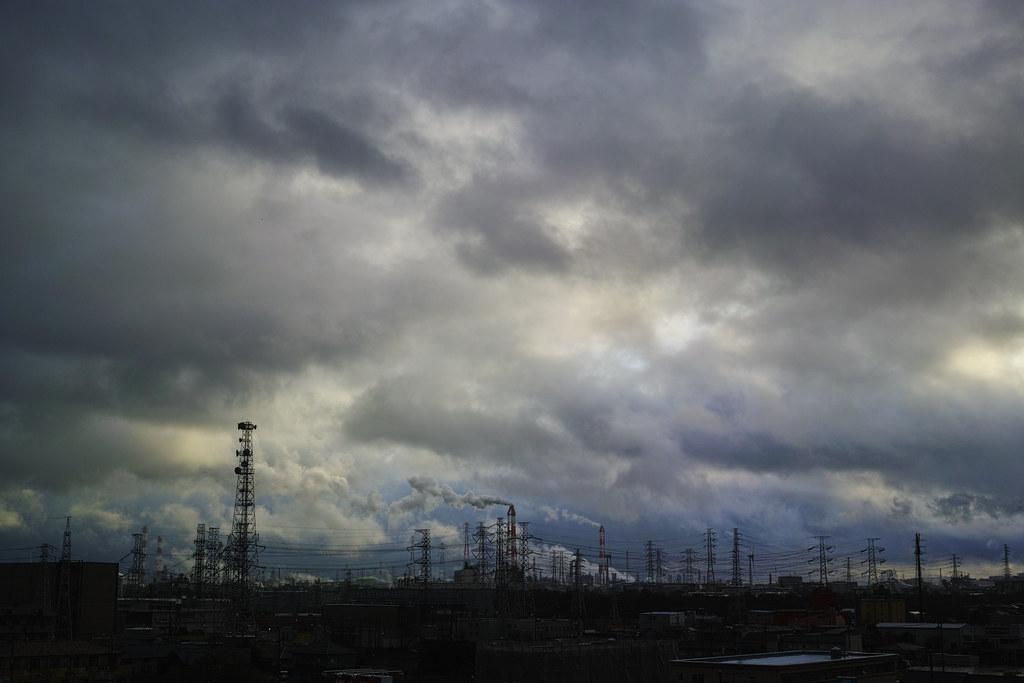 Ponderous sky