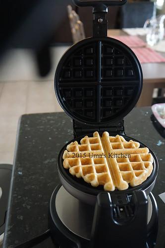Overnight waffles 8
