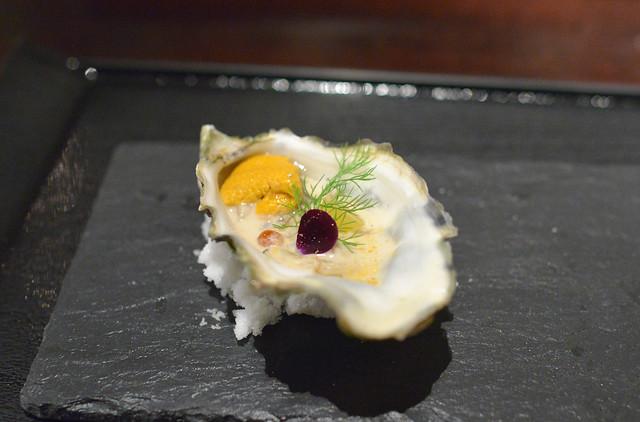 sea urchin & oyster