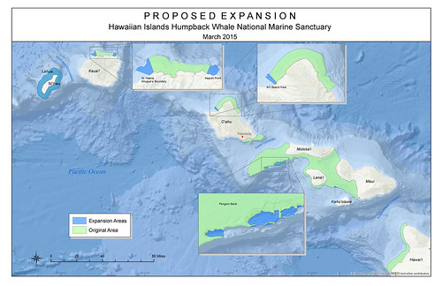 Proposed Humpback Whale Sanctuary expansion map