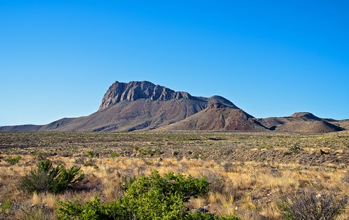 Nugent Mountain and the Chihuahuan Desert (Big Bend National Park)