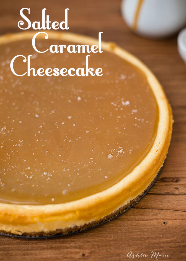 everyone loves salted caramel, and this cheesecake is no exception, it's delicious and a huge hit