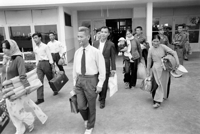 SAIGON July 14, 1965 - Tan Son Nhut Airport - by Bill Eppridge