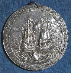 Battle of Texel medal reverse