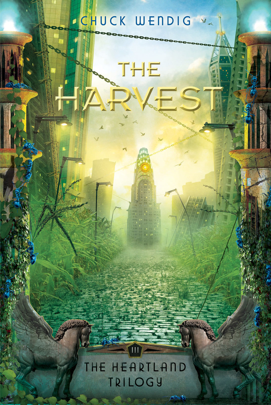 Cover Reveal: The Harvest (Heartland, Book Three)
