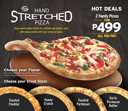 Review of NEW Hand Stretched Pizza by Pizza Hut Philippines #StretchPA