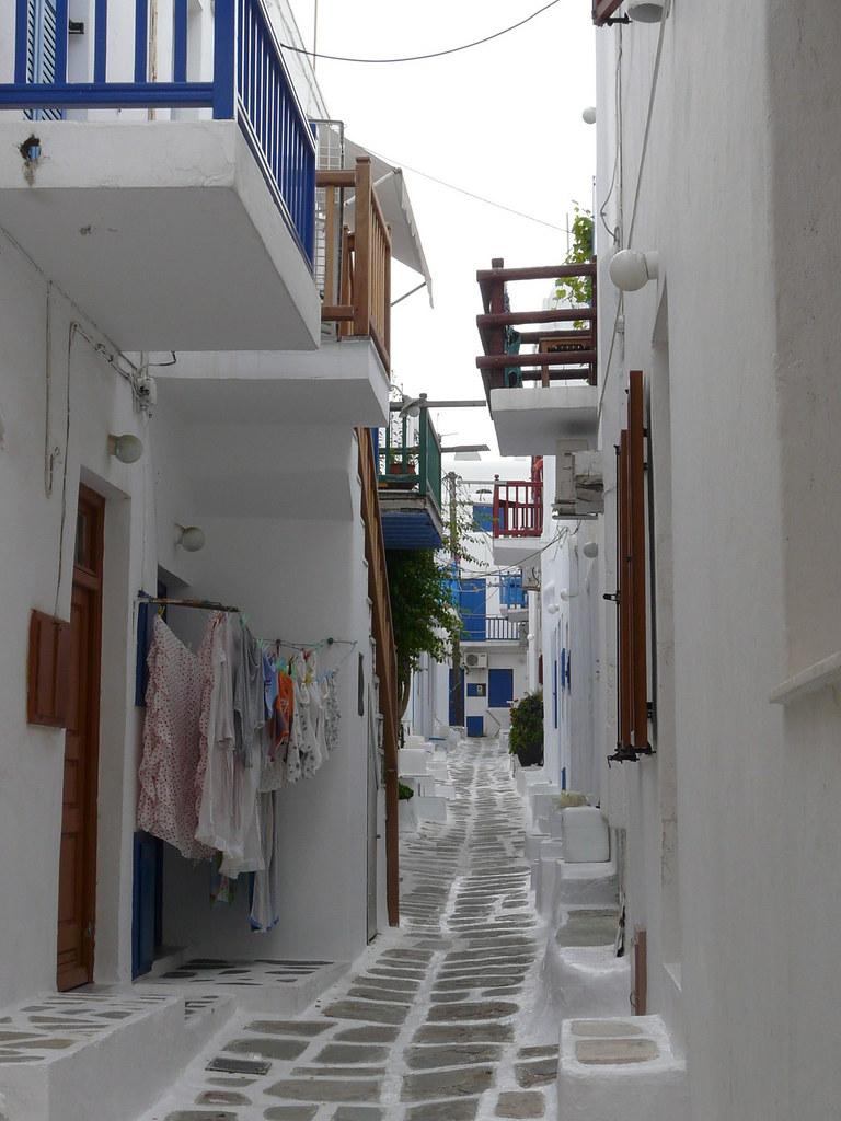 Rue à Chora