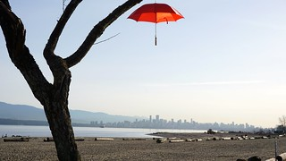 Those red umbrellas... a.k.a. the #RainBlossomProject returns
