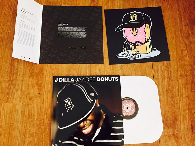 Dilla Donuts Vinyl Donuts by j Dilla is a Solid