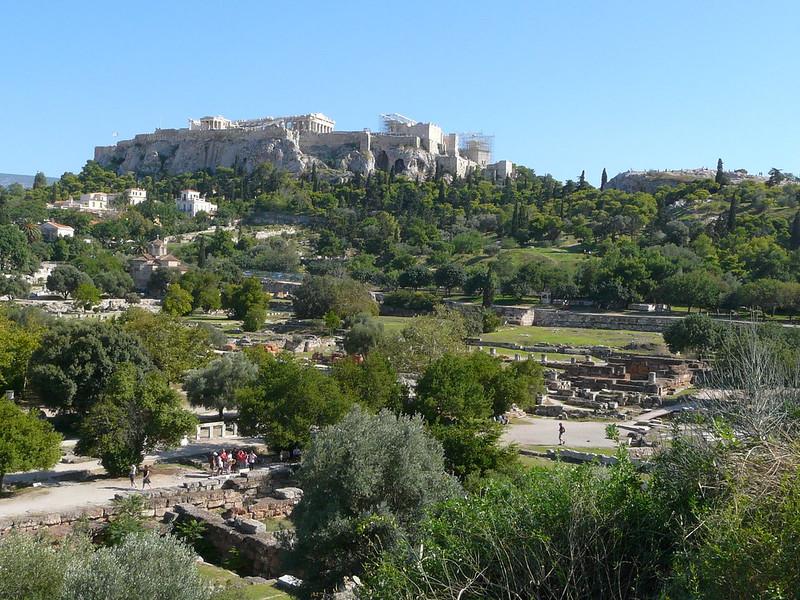 L'Acropole à Athènes