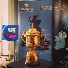 Fanzone & Trophy Tour #England2015 #rugbyworldcup @worldrugby #WebbEllisCup #tour #fanzones
