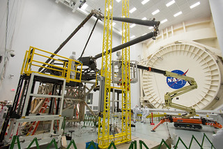 NASA Prepares Webb Telescope Pathfinder for Famous Chamber A