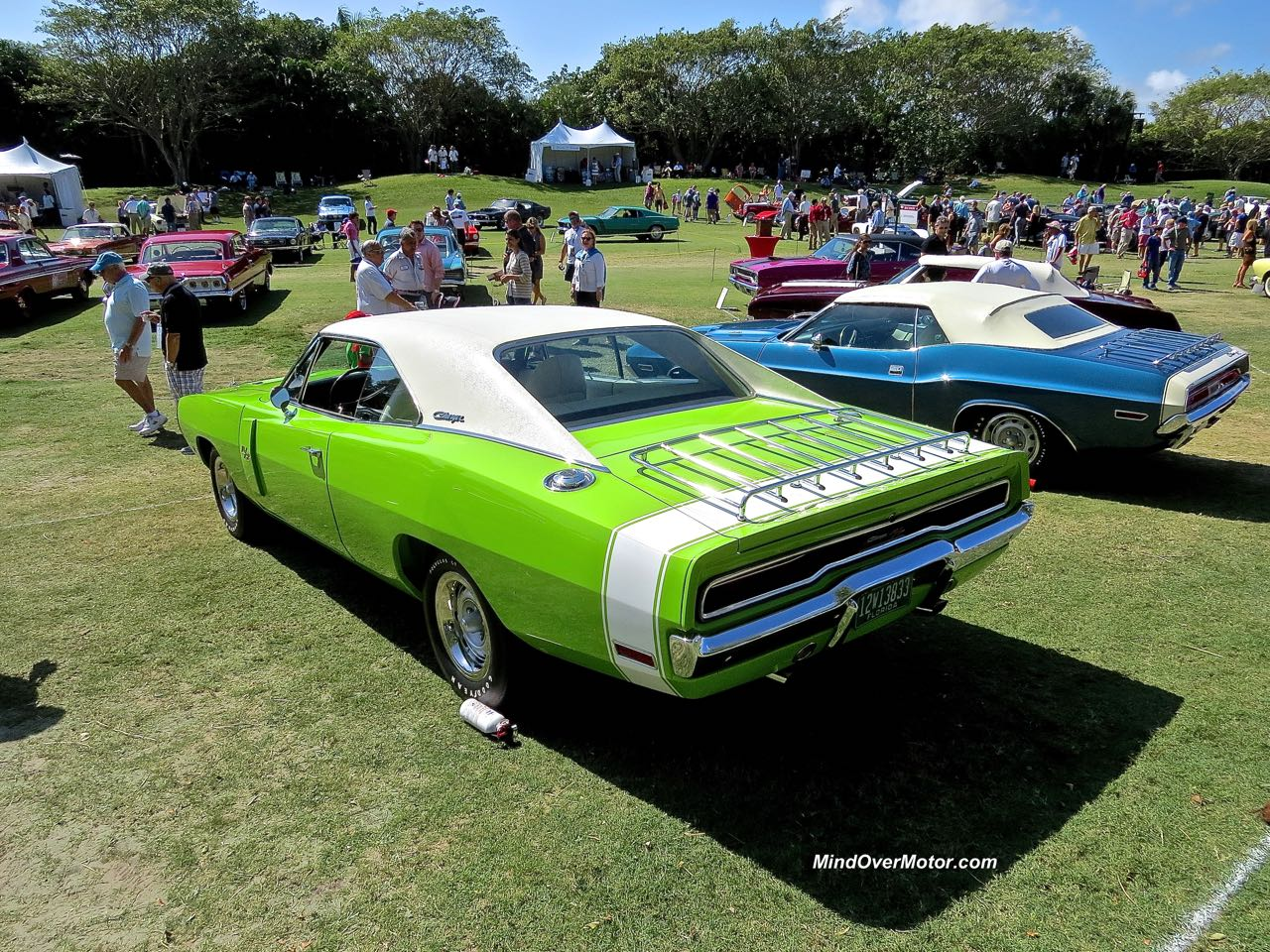 1970 Dodge Charger R:T Rear Angle 2