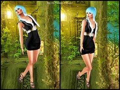 Freebies Red Mint Hair, Exquisite Jewelry, Zanze Nini Dress, Loordes of London Bucking Wedges_001