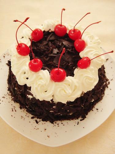 Magic Oven Black Forest Cake