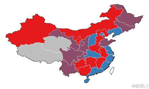 中国意识形态地图