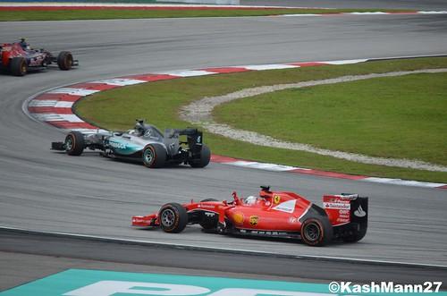 Vettel Wins
