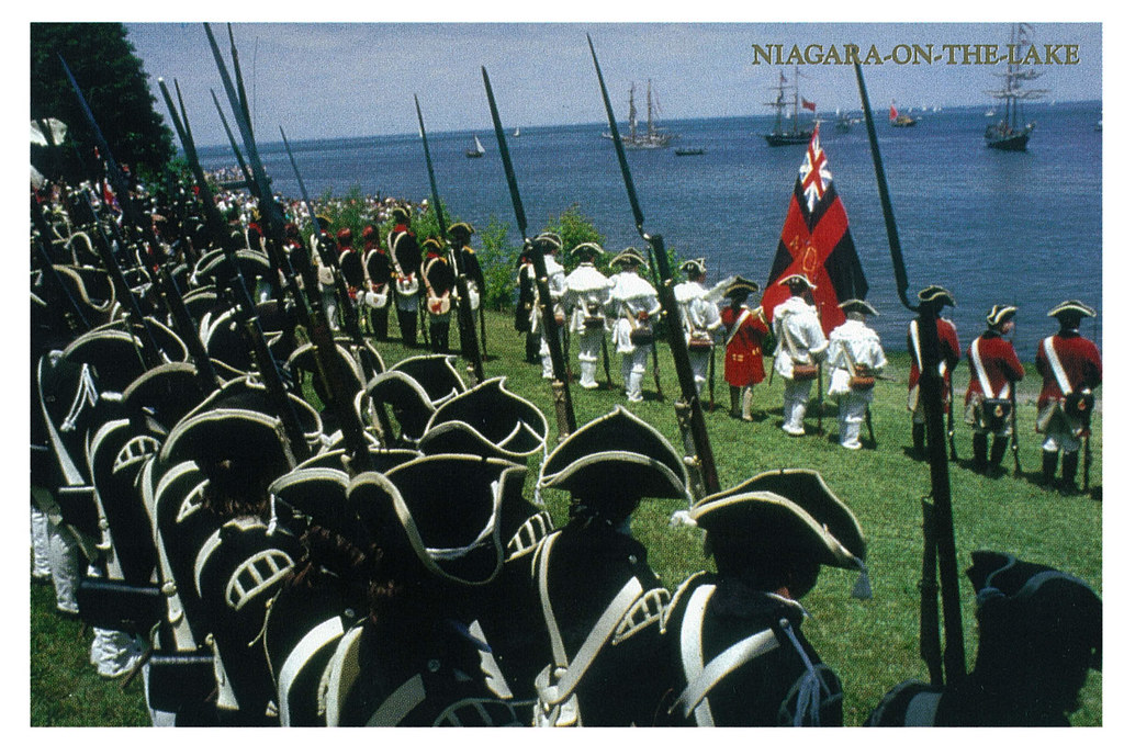 Ontario - Niagara-on-the-Lake - History - Militia