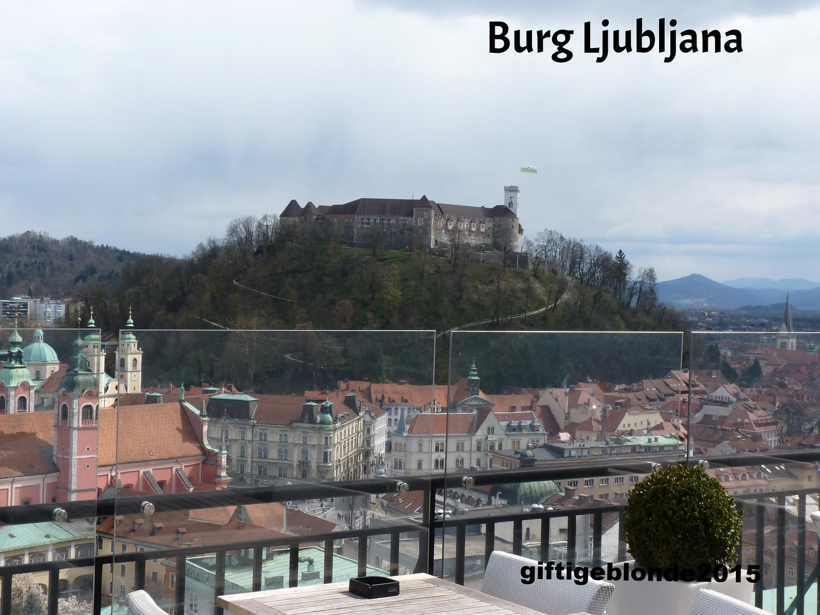 Slowenien, Ljubljana Burg