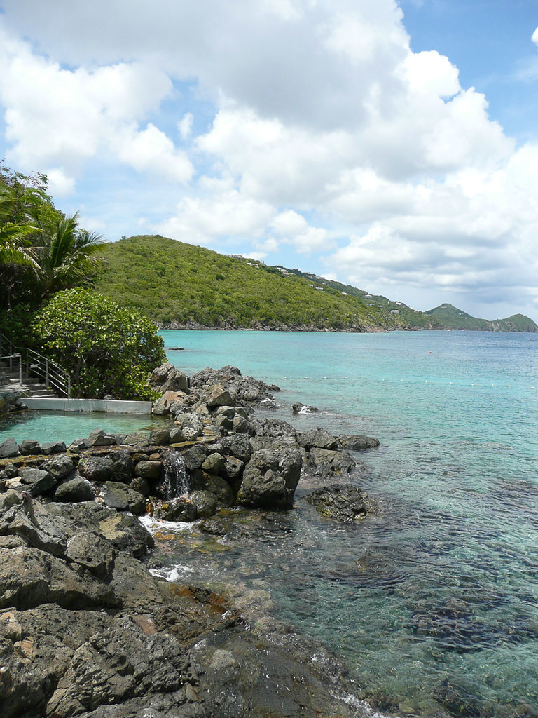 Rocky Beaches near Coral World in St. Thomas