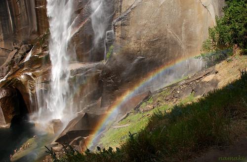 Vernal Fall rainbow