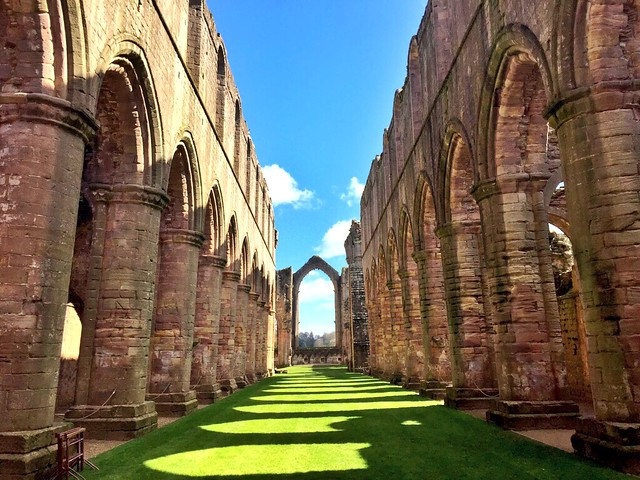 Fountains Abbey (Yorkshire, Inglaterra)