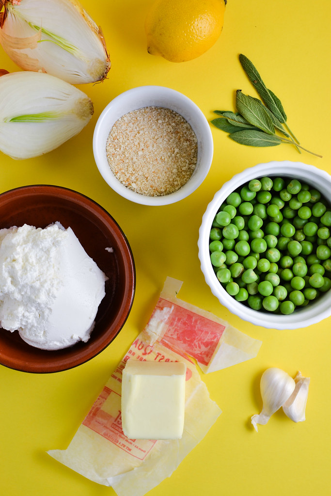 Baked Ricotta with Peas | Things I Made Today