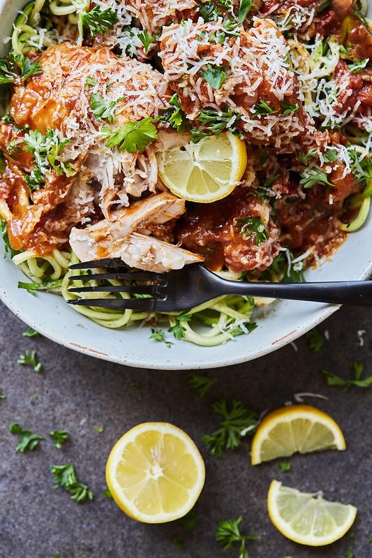 Chicken Kapama - Greek Braised Cinnamon Chicken