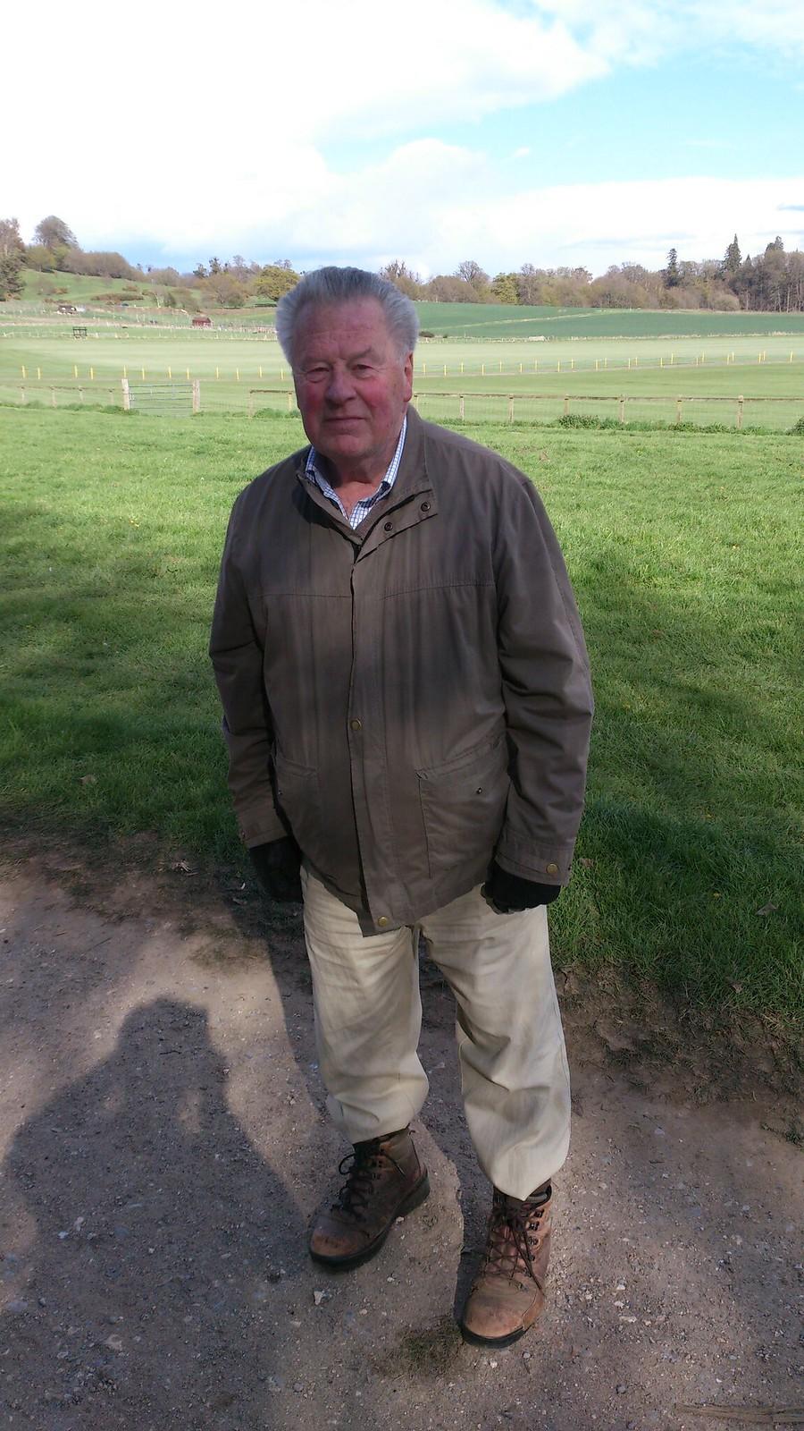 Founder of the Midhurst Way: John Trueman SWC Walk 217 Midhurst Way: Arundel to Midhurst