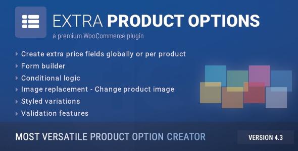 WooCommerce Extra Product Options v4.3.2