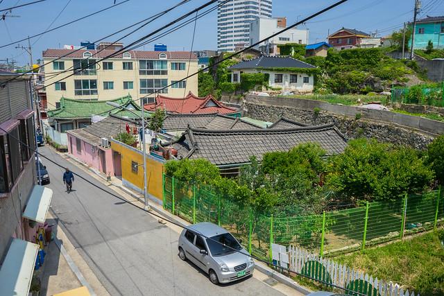 Colonial hanok, Mokpo, South Korea