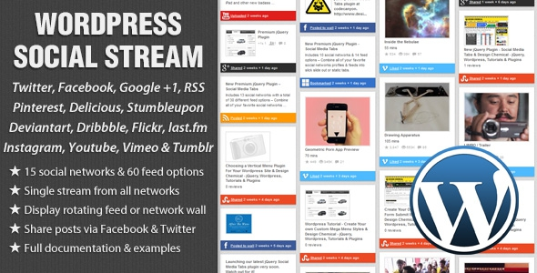 WordPress Social Stream v1.6.2