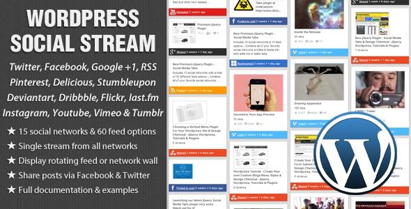 WordPress Social Stream v1.6.2.1