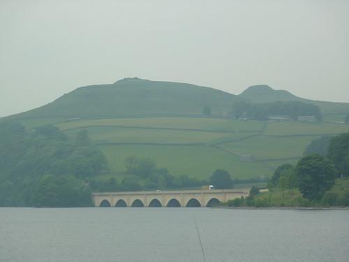 View across Ladybower Reservoir