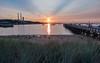 Sunset in Port Jefferson