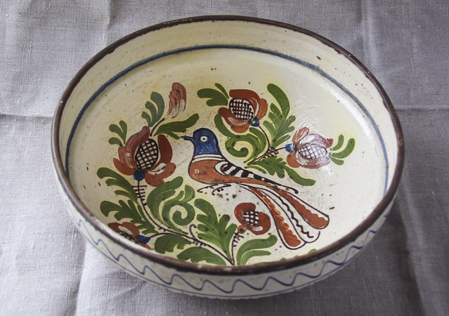 Reference, apparently Portuguese vintage bowl