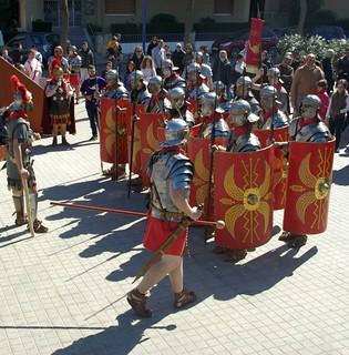 Legionaris romans de Barcino Oriens a Premià de Mar