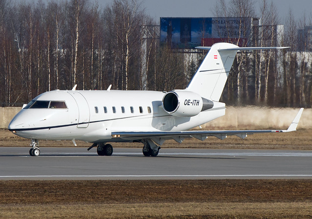 OE-ITH Bombardier Challenger 604 (CL-600-2B16)