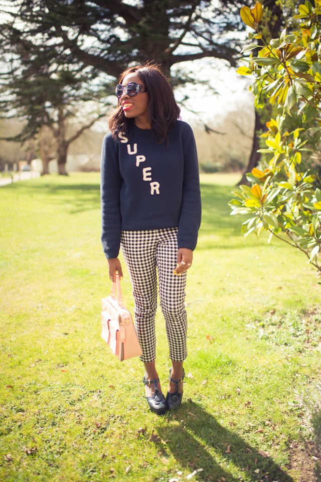 retro spring outfit post