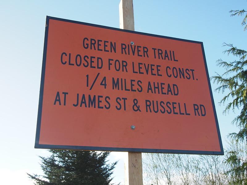 Green River Trail Closure: Again?