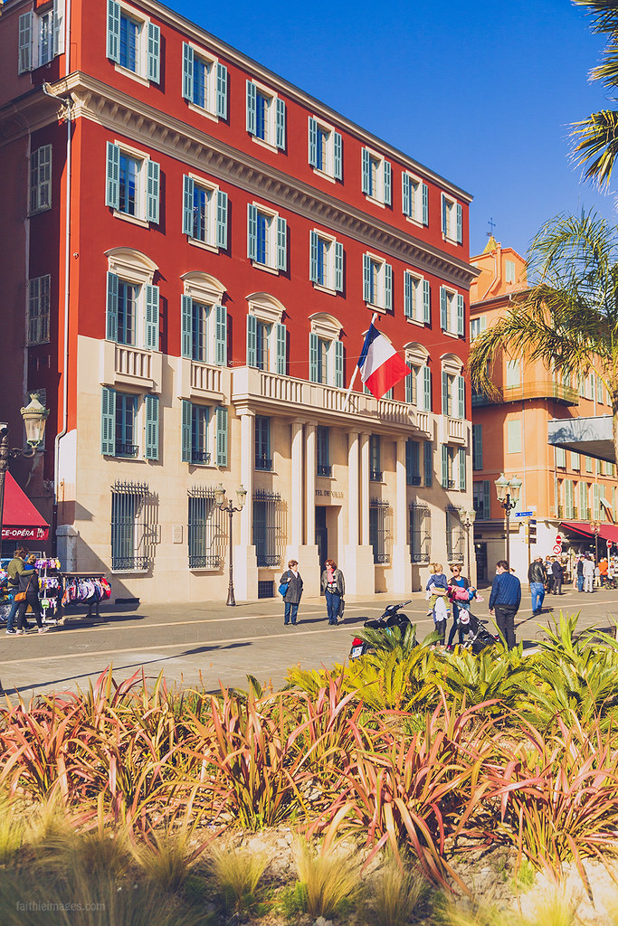 The Hotel de Ville in Nice, France
