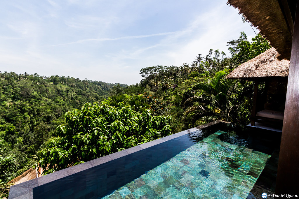 Elevation of gianyar bali indonesia maplogs for Garden pool villa ubud